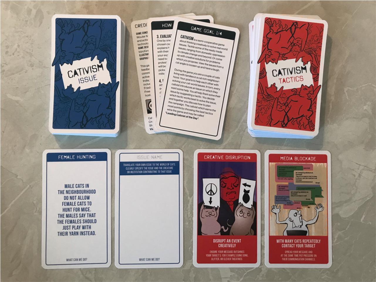 Cativism cards