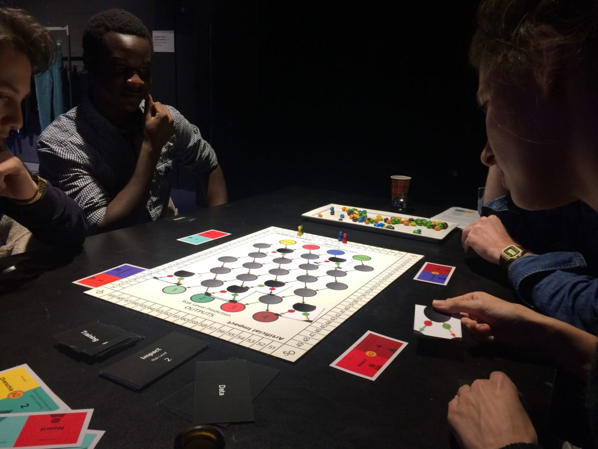 Artificial Impact board game